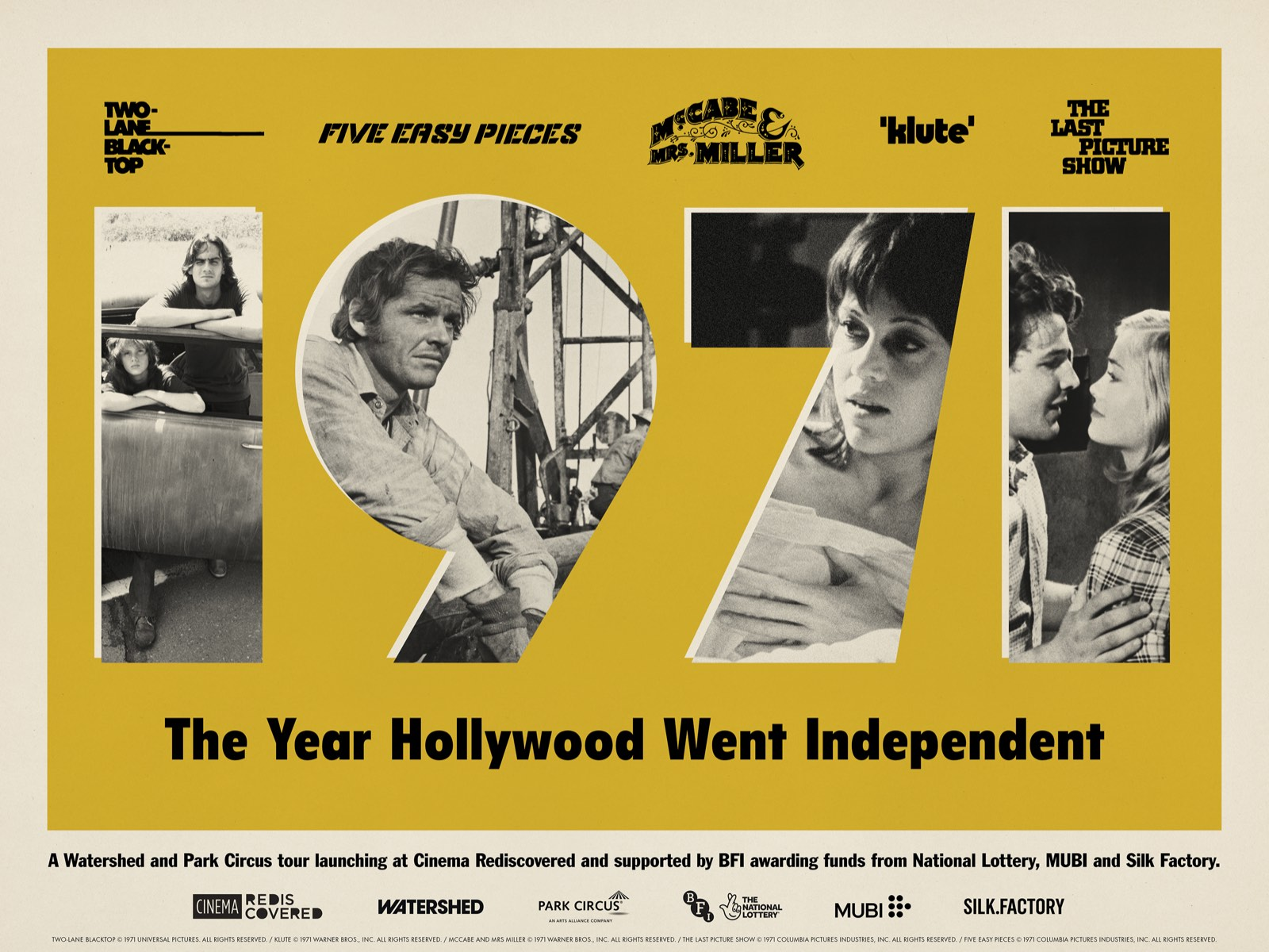1971: The Year Hollywood Went Independent
