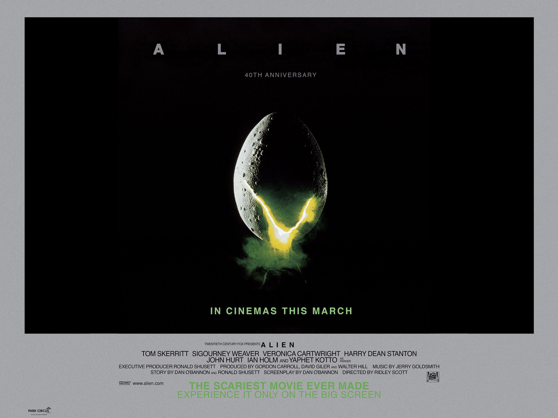 Alien re-release poster
