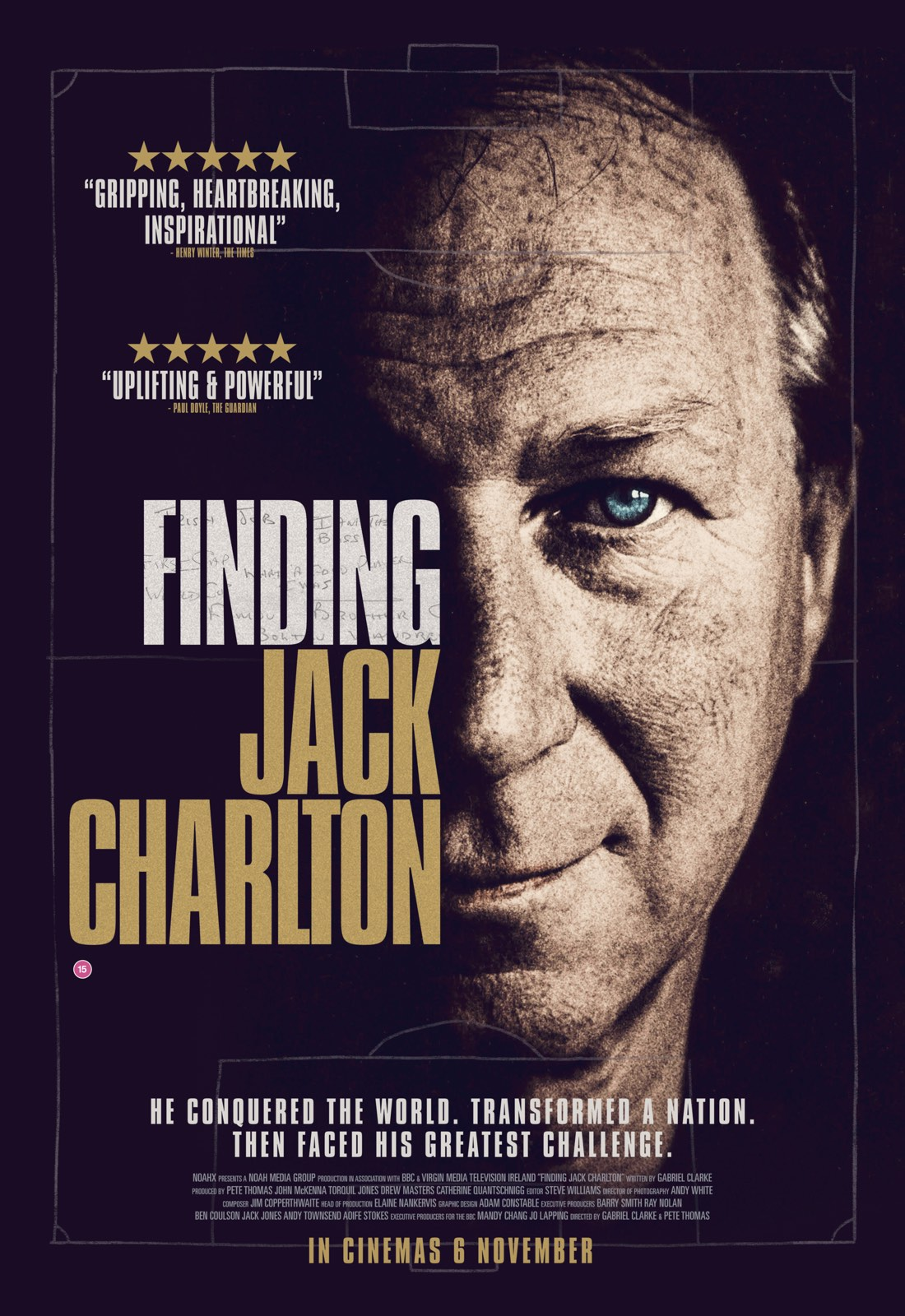 Finding Jack Charlton - gripping new documentary coming to cinemas 6 November