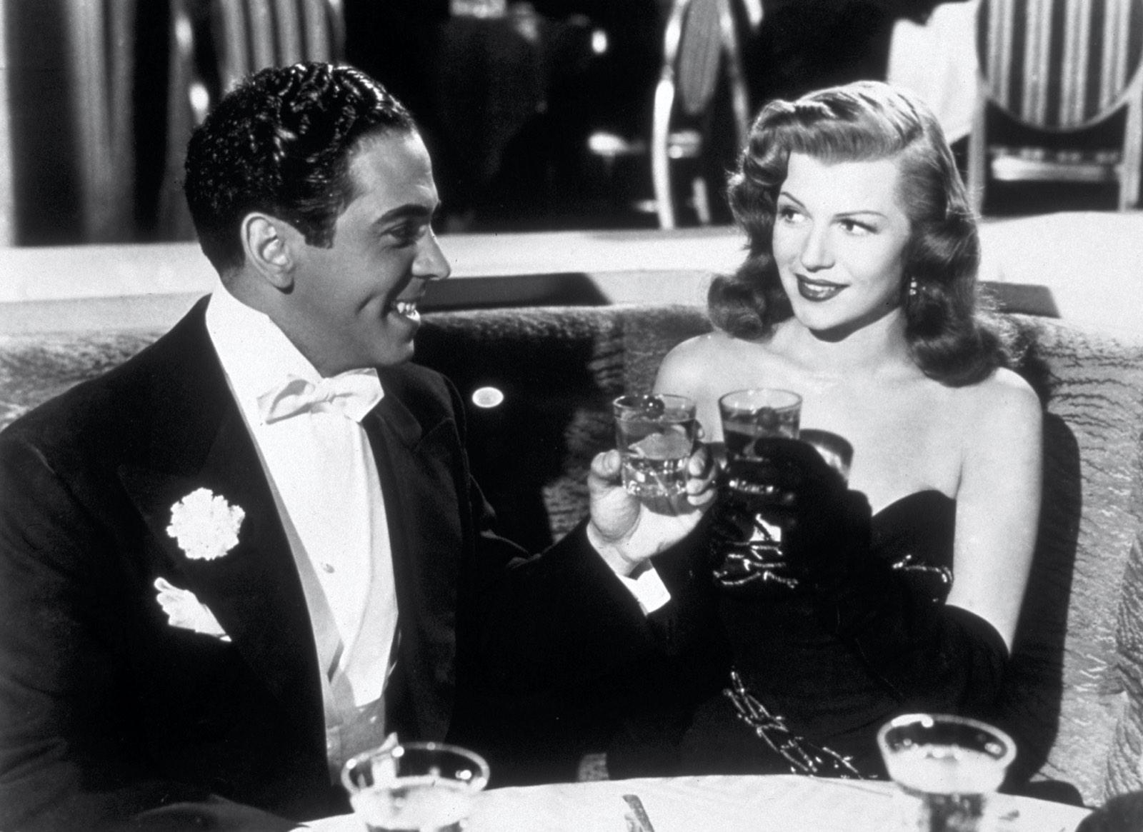 Glenn Ford and Rita Hayworth in Gilda