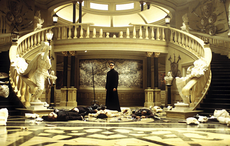 The Matrix Reloaded Film Park Circus