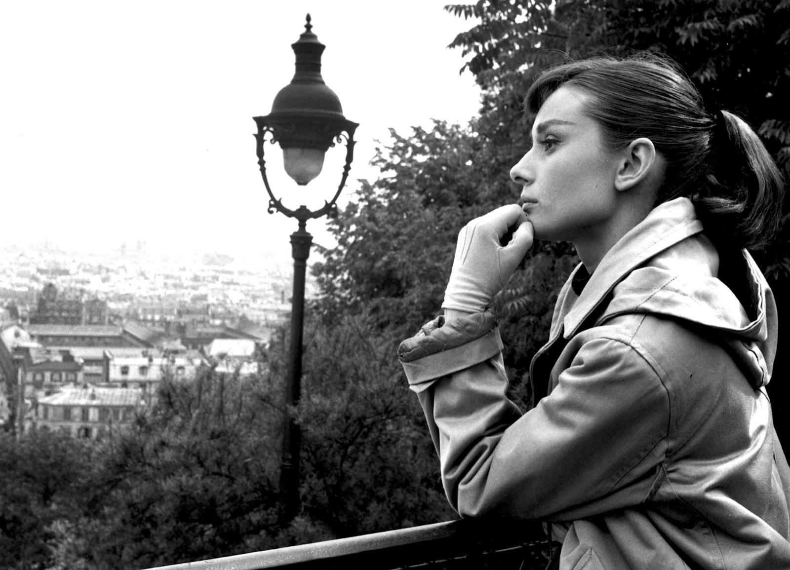 Audrey Hepburn in the City of Love