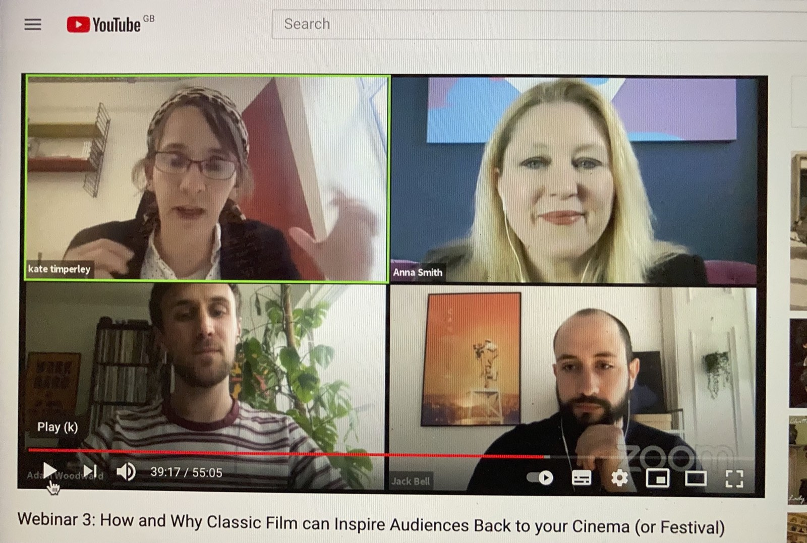 Watch Now: How and Why Classic Film can Inspire Audiences Back to your Cinema (or Festival)